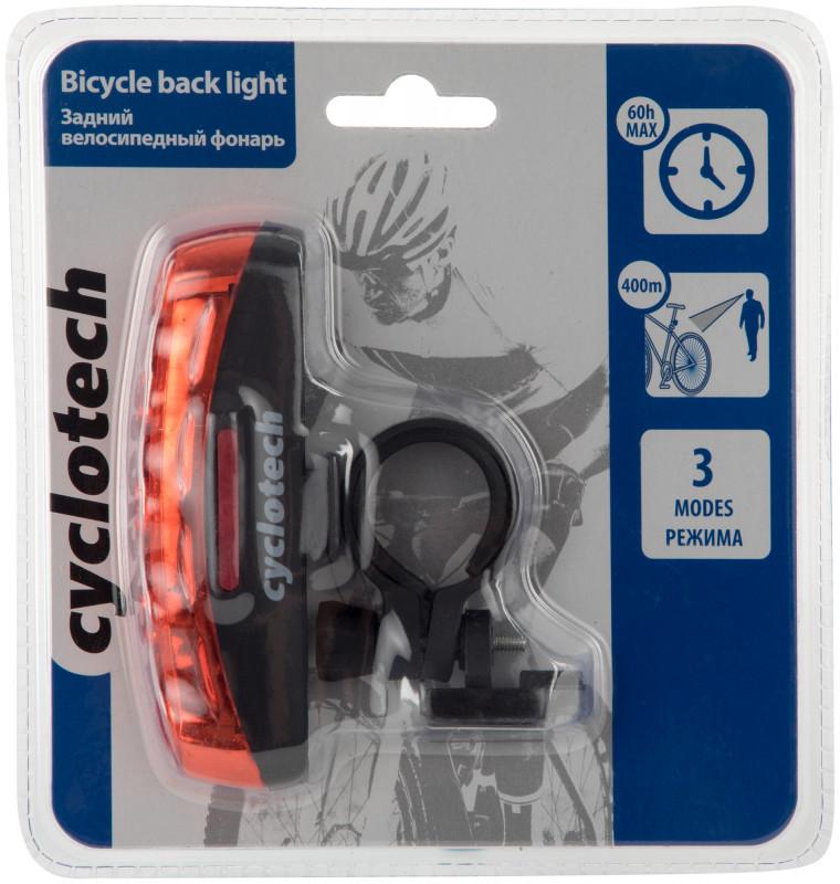 Фонарь велосипедный задний габаритный Cyclotech CRL-2 — фото №3