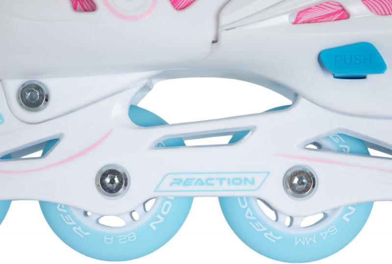 Роликовые коньки детские раздвижные REACTION Galaxy Girl — фото №8