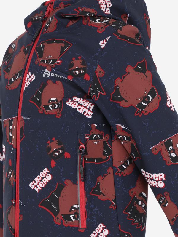 Куртка софтшелл для мальчиков Outventure — фото №3