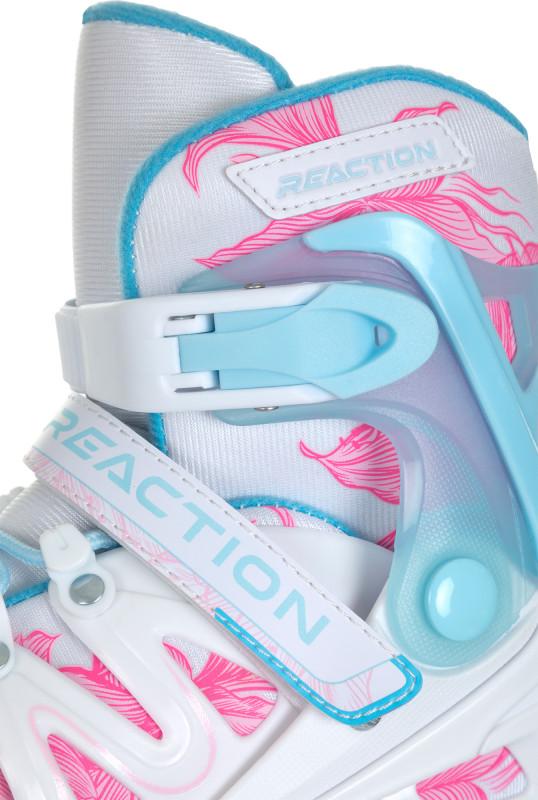 Роликовые коньки детские раздвижные REACTION Galaxy Girl — фото №7