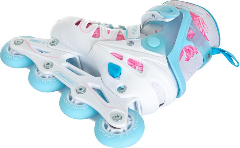Роликовые коньки детские раздвижные REACTION Galaxy Girl — фото №3