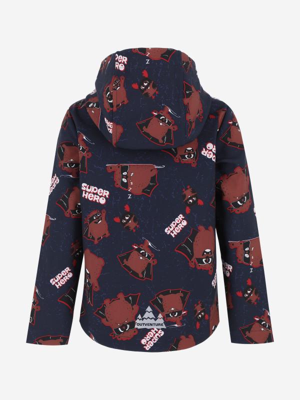 Куртка софтшелл для мальчиков Outventure — фото №2