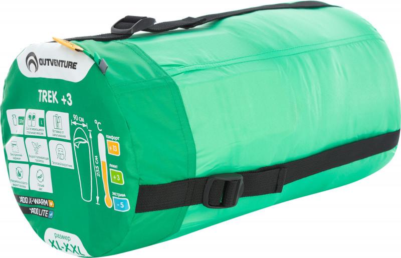 Спальный мешок Outventure TREK +3 левосторонний — фото №8