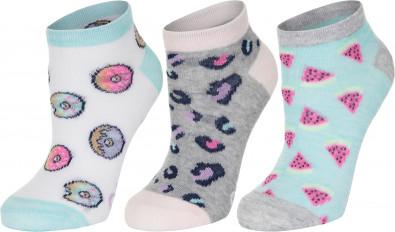 Носки для девочек Skechers, 3 пары Купить в Спортмастер