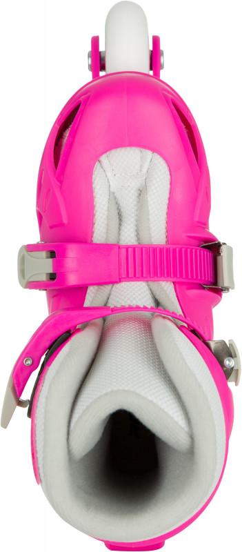 Роликовые коньки детские раздвижные REACTION Rock Girl — фото №5