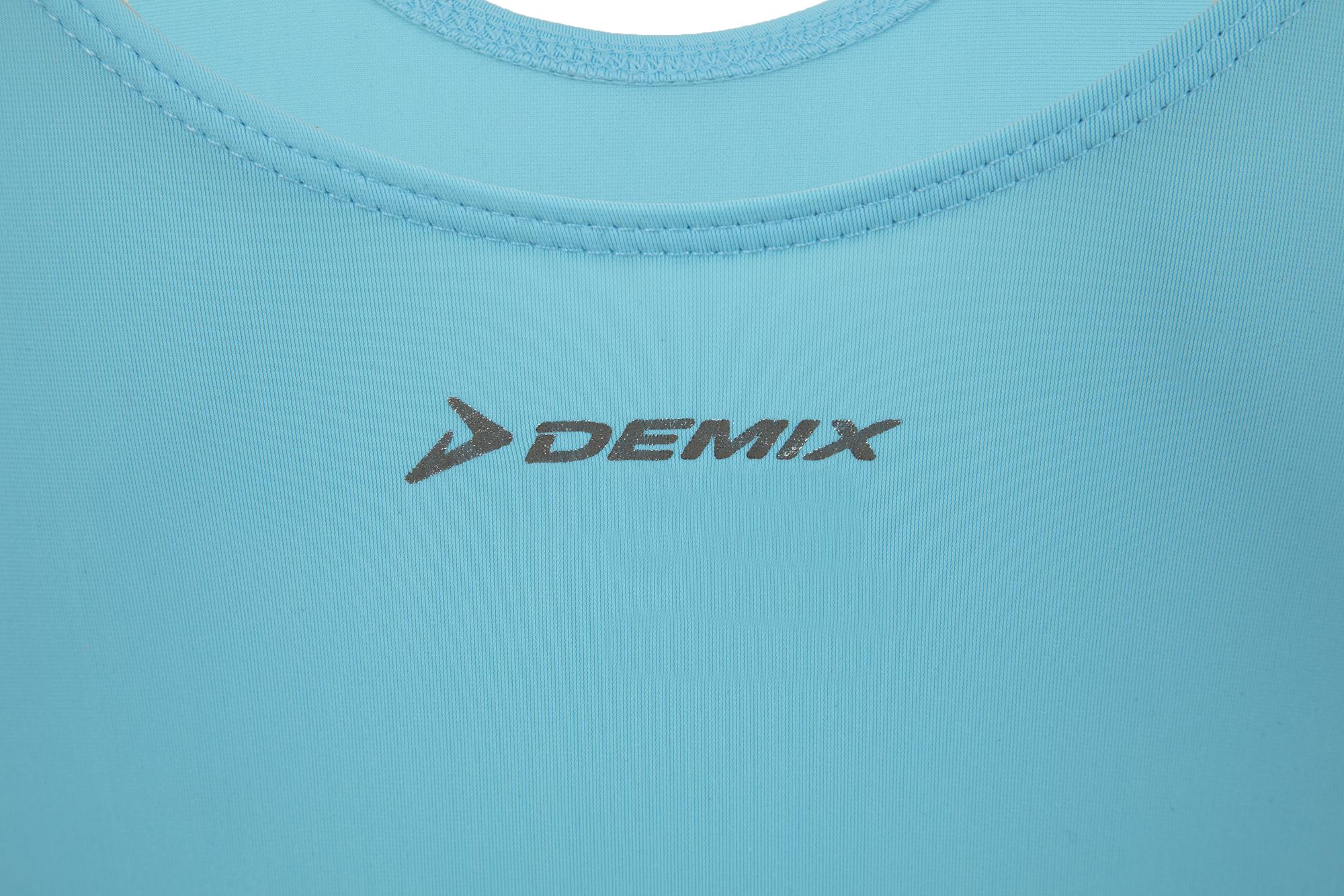 Купальник гимнастический с длинным рукавом для девочек Demix