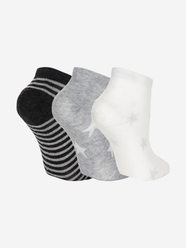 Носки для девочек Demix, 3 пары — фото №2